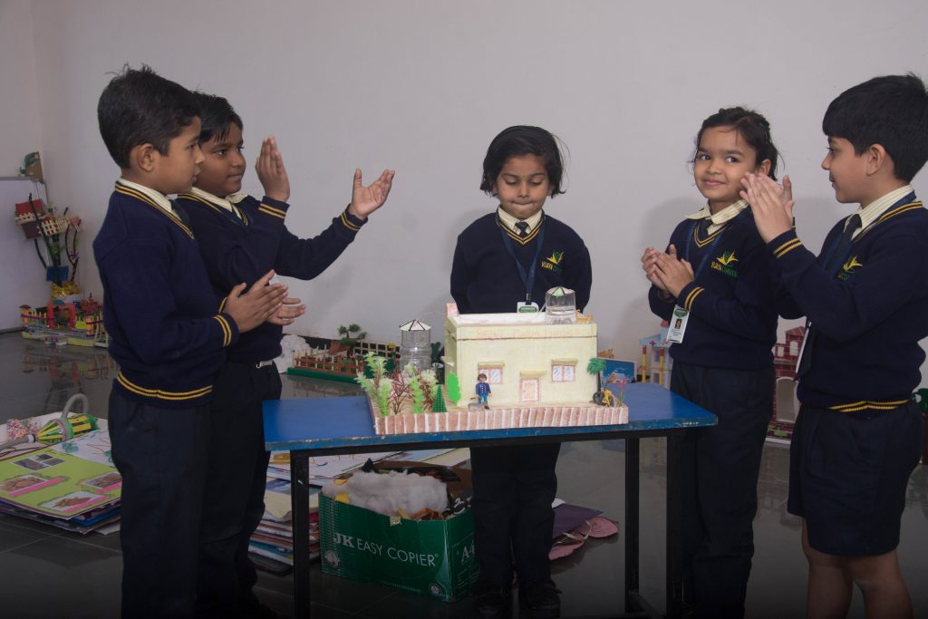 smart projects of vijaya convent students curriculum features