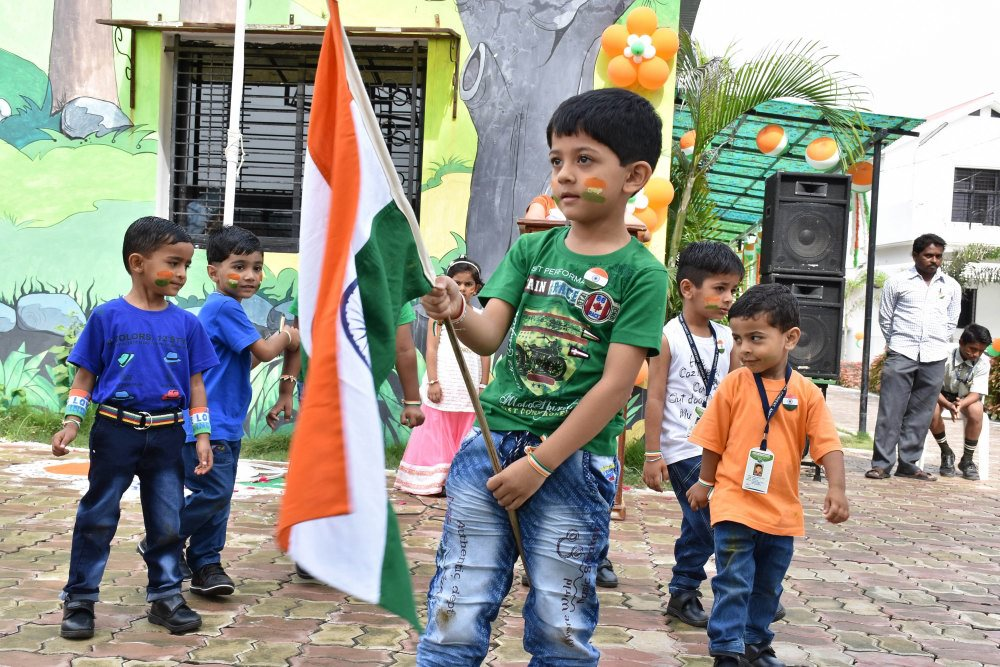 best cbse pattern school admission vijaya school for excellence icse pattern activity base learning republic day