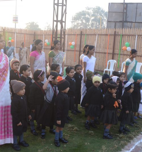 independence day at vijaya convent school preschool pre primary schools amaravati curricular activities