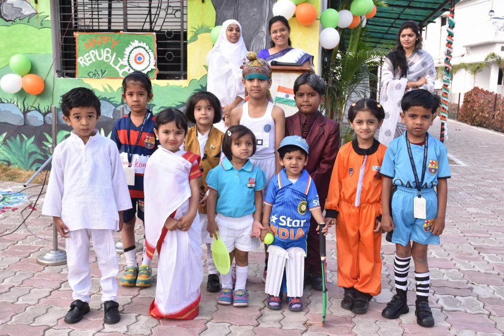 preschool pre primary primary schools amaravati republic day celebration in the amravati