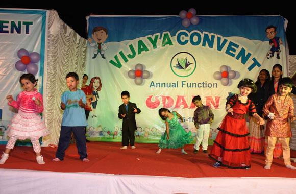 vijaya convent school annual function student dancing