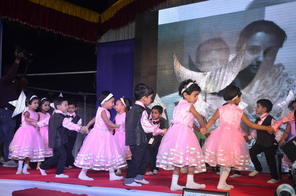 vijaya convent all student dance performance annual function celebration
