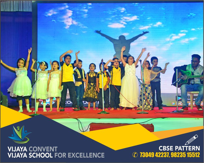 gathering 2018 annual function 2018 vijya convnet vijaya school for excellence drama by student stage performance by children student at viyaconvent