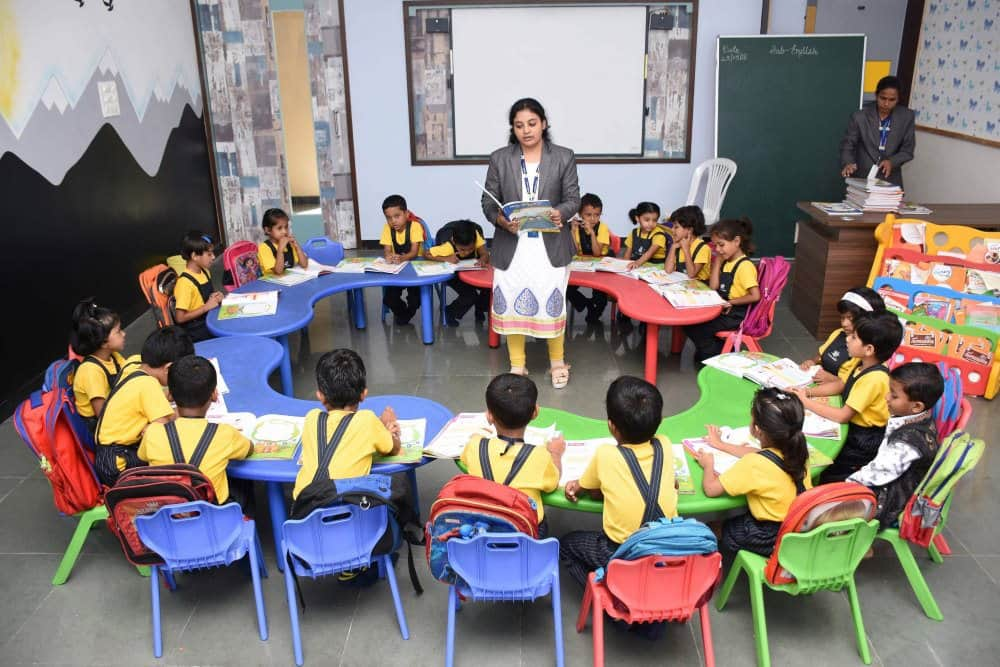 classroom Teaching And Learning - Vijaya Convent CBSE School Amravati