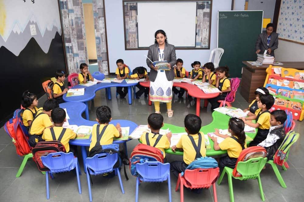 classroom Teaching And Learning - Vijaya Convent CBSE School Amravati