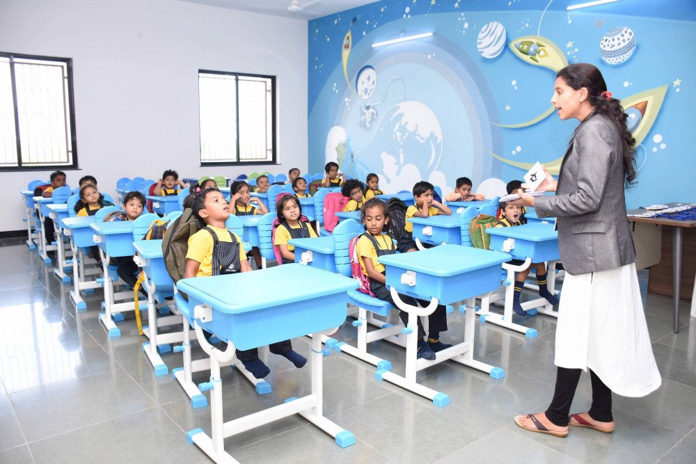 Effective Learning Classroom - Vijaya Convent CBSE School Amravati