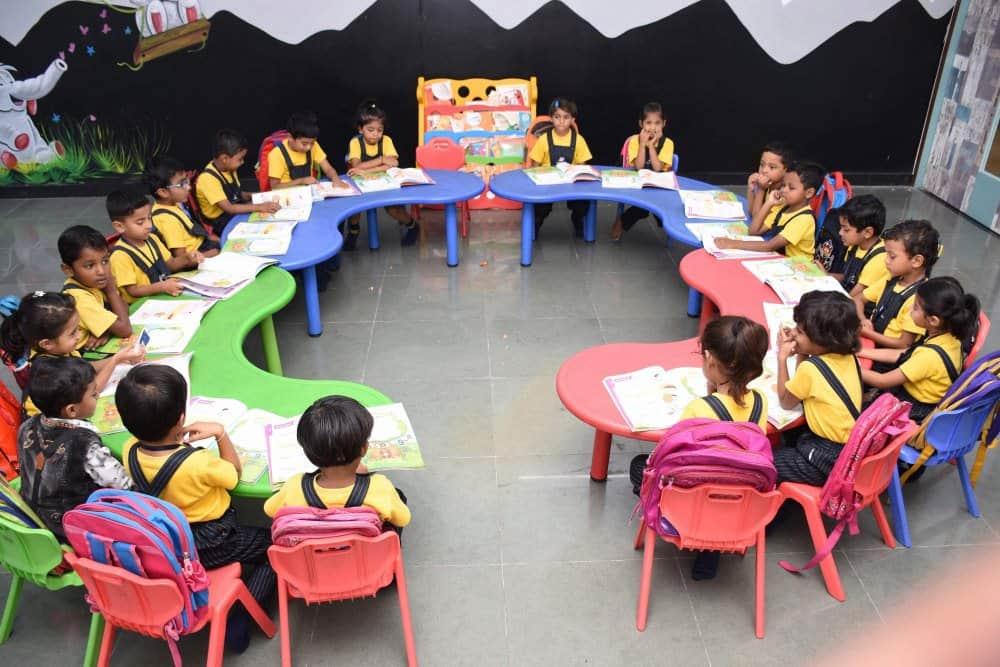Vijaya Convent CBSE School Class Room