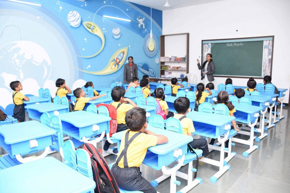 Vijaya convent cbse school amravati - Engaging classroom