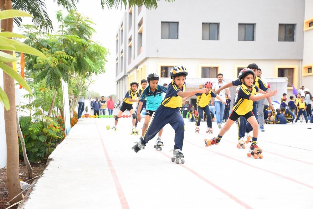 scketing-at-sports-day-vijaya-convent-school-amravati