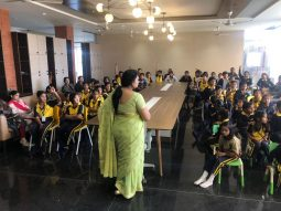 cbse pattern international school- Classroom activity