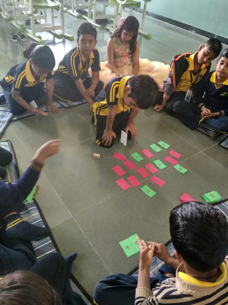 Math activity in vijaya convent school for excellence