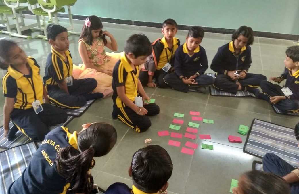 top schools in amravat- Math activity