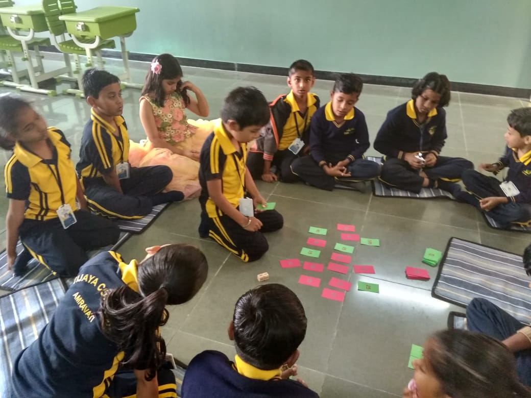 top schools in amravat- Math activity