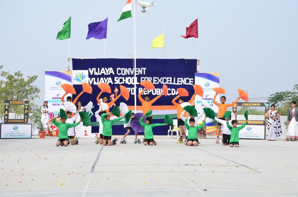 republic-day-at-vijaya-convent-school-amravati