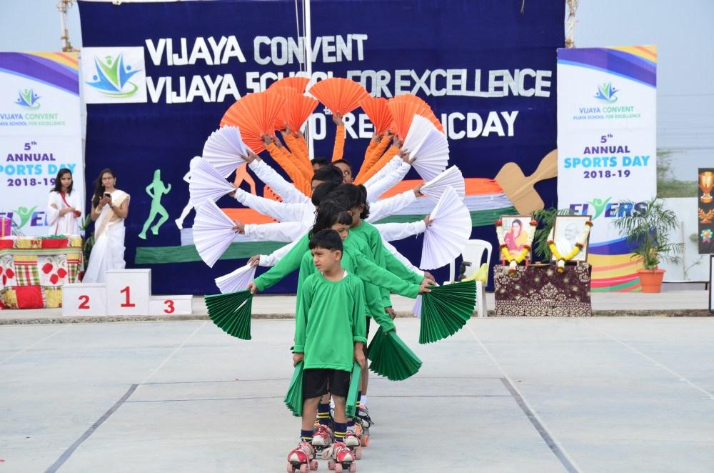 Republic Day Celebration at Vijaya Convent CBSE School Amravati
