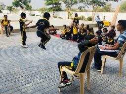international public school - Student Rope Skipping
