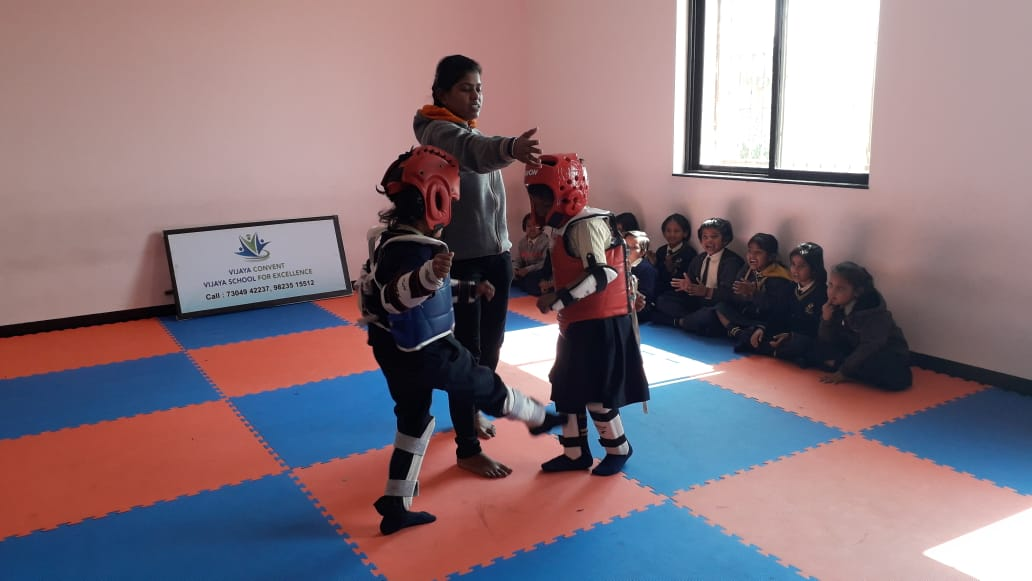 CBSE School In Amravati - Taekwondow top school in amravati