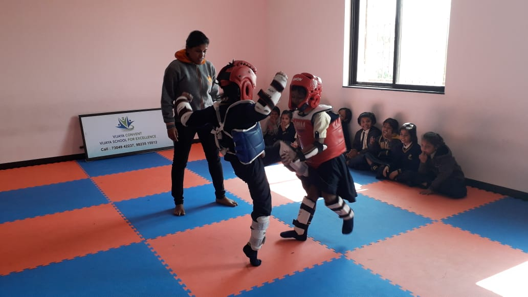 English Medium School Amravati - Taekwondo best school in amravati