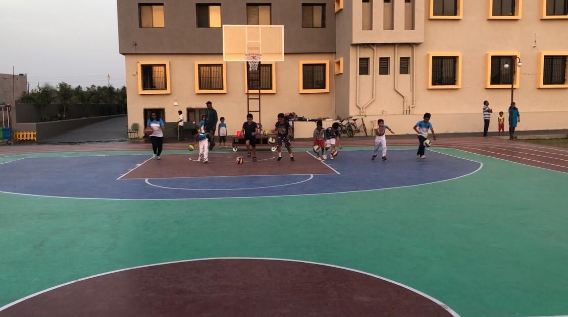 Summer-Camp-Basketball-game-best-schools-in-amravati