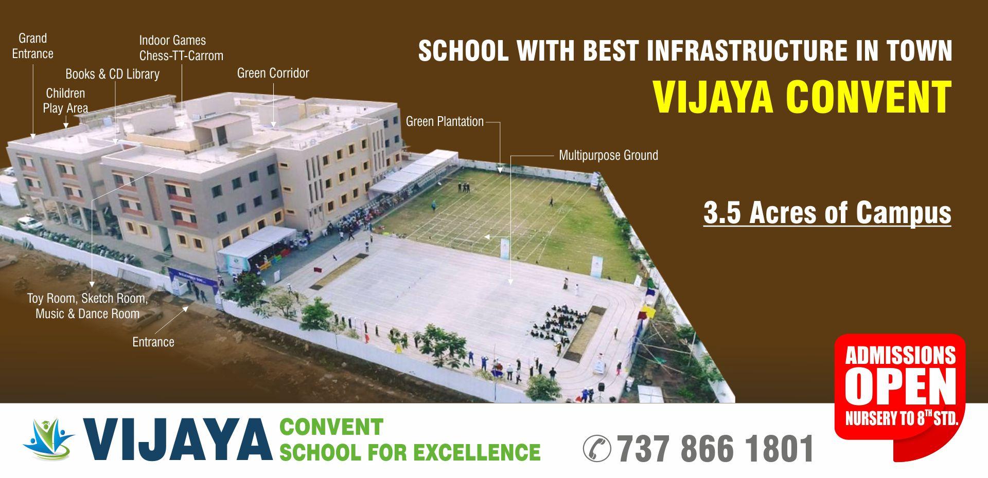 Vijaya convent school amravati cbse school