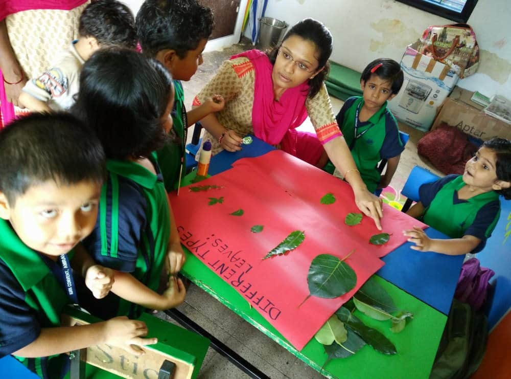 eco-friendly school with good infrastructure activity based learning