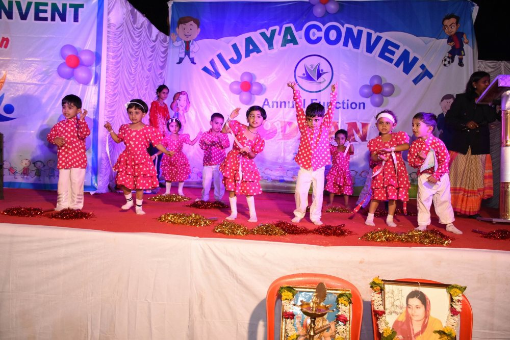 top best good cbse schools in amravati vijaya convent annual function