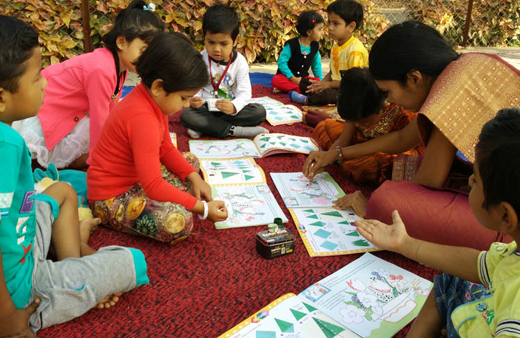 drawing competition - vijaya convent cbse school amravati