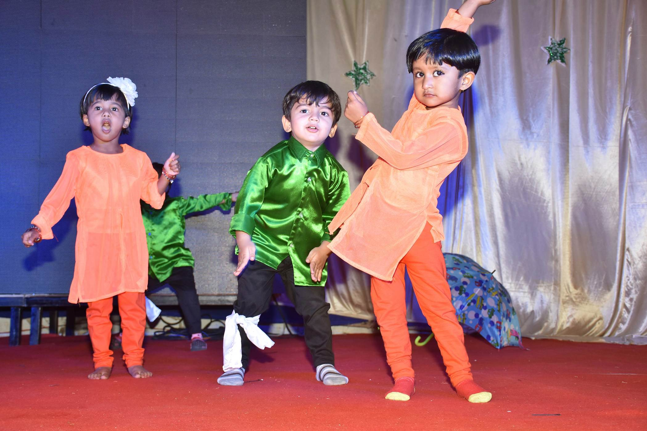 vijaya convent dance performance annual gathering of kids in the school