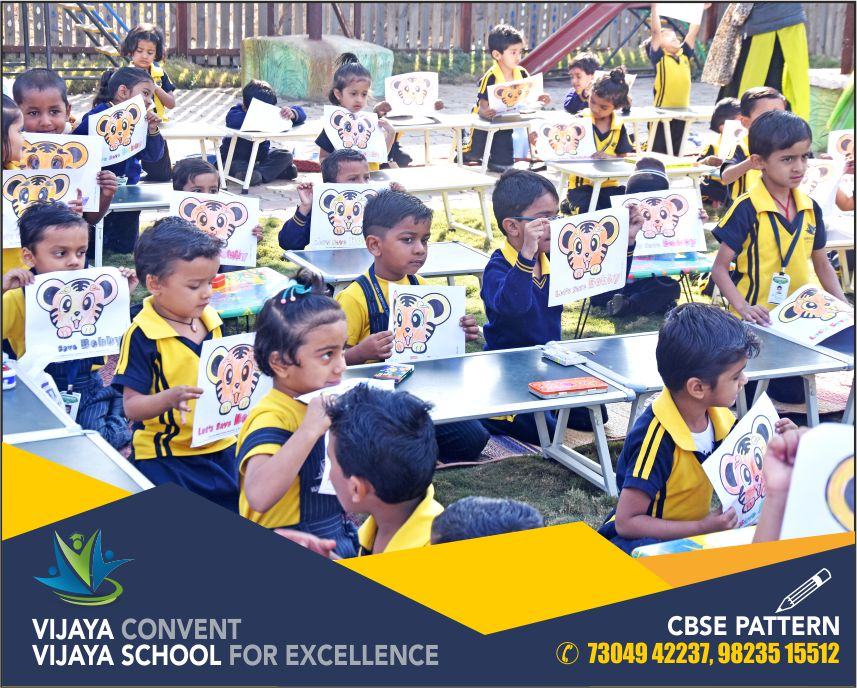 activity oriented school school with best infrastructure painting competition award winning school first prize in paining competition