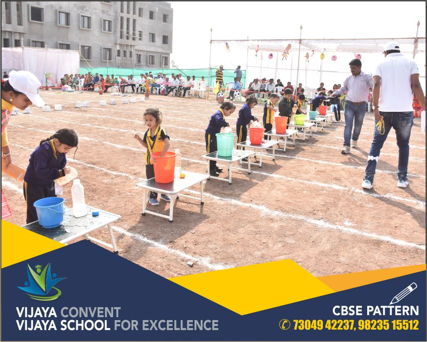 annual sports day at school annual sports day phots sports day at vijaya convent big infrastructure school in town