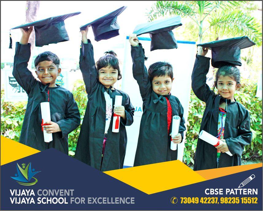 convocation day at vijaya convent vijaya school for excellence best curriculum school in town gopal nagar akoli road school