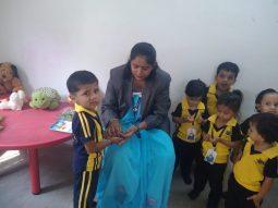 dussehra celebration vijaya convent cbse school amravati