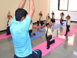 learning yoga vijaya convent school amravati