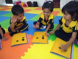 warli-print activity-step-2-cbse-school-amravati