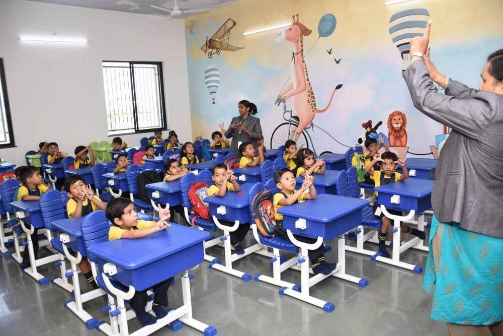 Positive Classroom Environment Vijaya Convent CBSE School Amravati