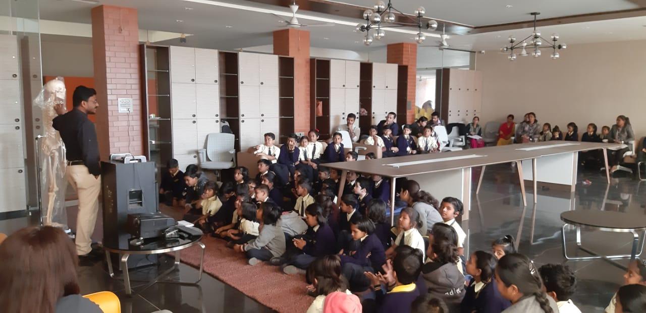 CBSE School In Amravati - health precaution
