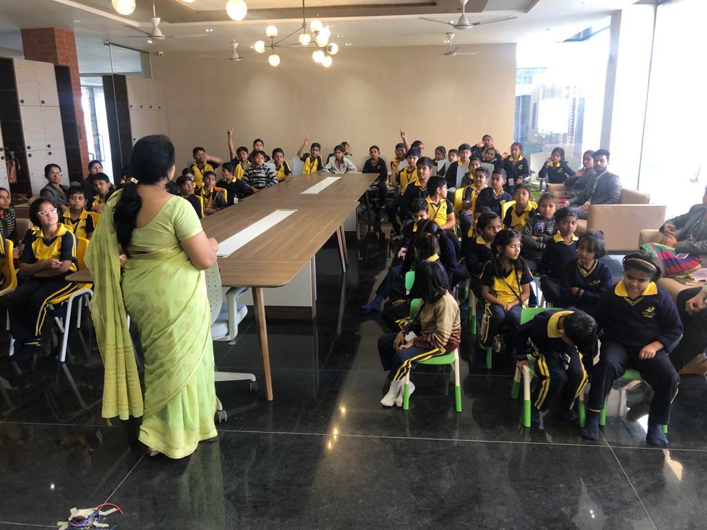 award winning schools- Classroom activity