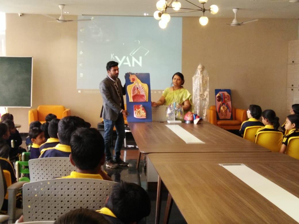 top cbse schools in amravati- Science Activity