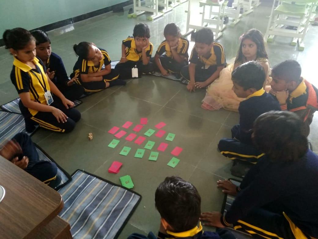 Group Activity english medium schools in amaravati