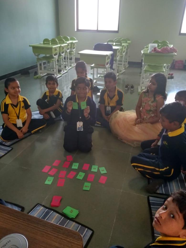 Group activity- top cbse schools in amravati