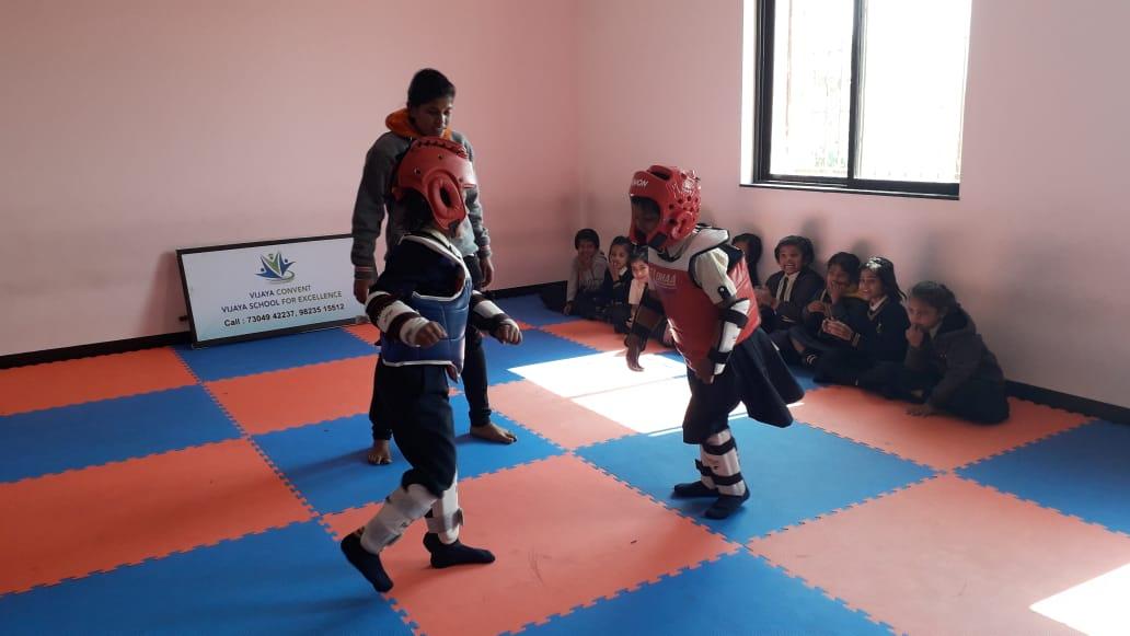 best english medium school in amravati - Taekwondo