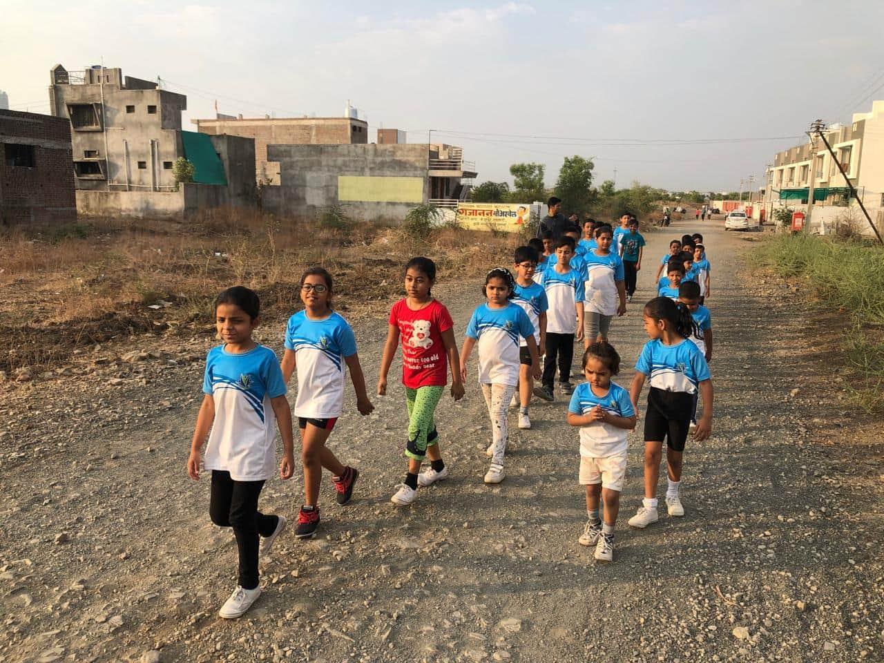 Summer Camp-Half-Marathon-in-amravati-international-school