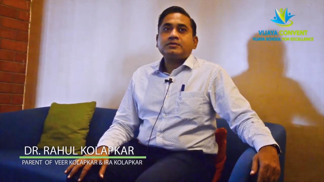 Rahul Kolapkar – Parent
