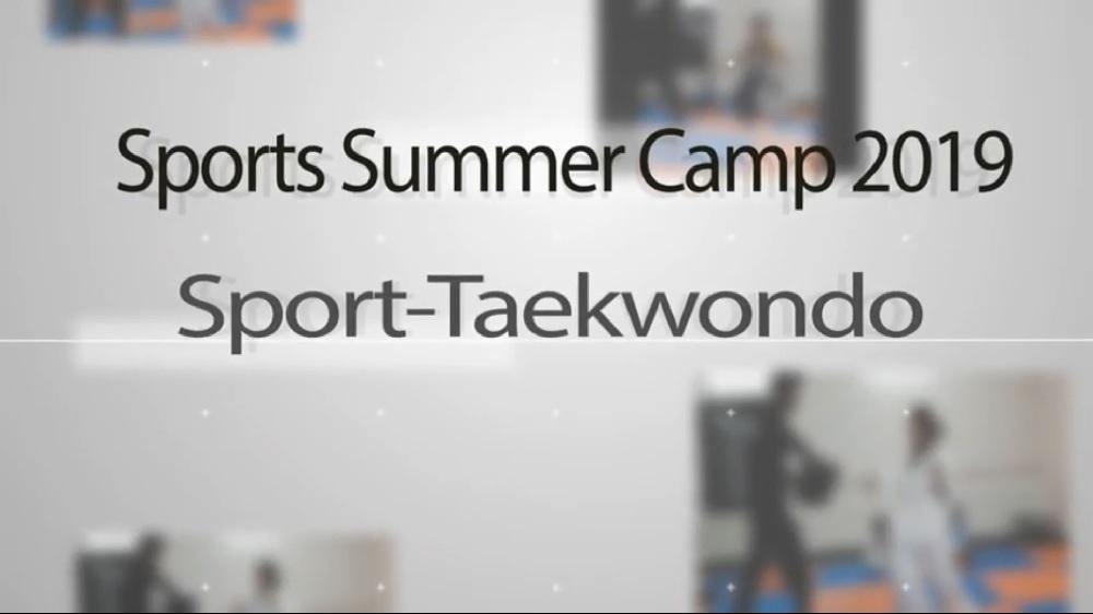 Sports Summer Camp 2019 – Taekwondo