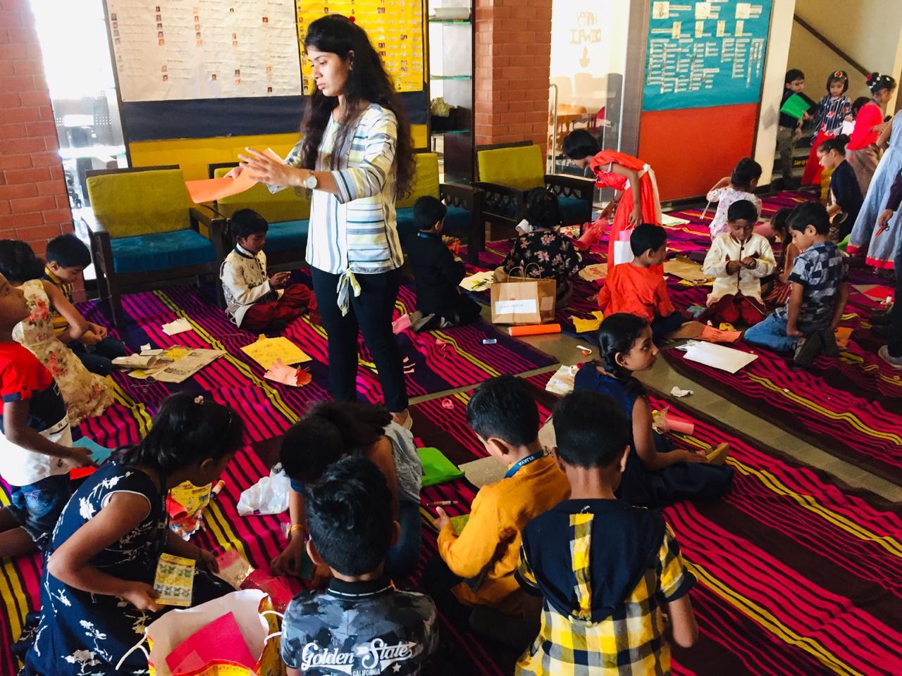 vijaya-convent-school-amravati-diwali-celebration-2019